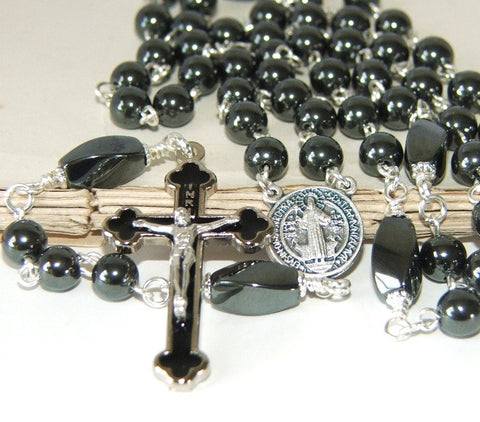 Confirmation rosary, made in New Zealand