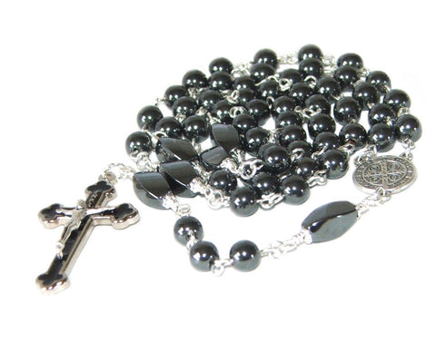 Catholic Rosary for Boys and Men, Saint Benedict Medal