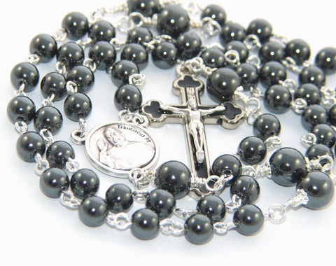Confirmation Rosary, Traditional Catholic Rosary for Boys or Men