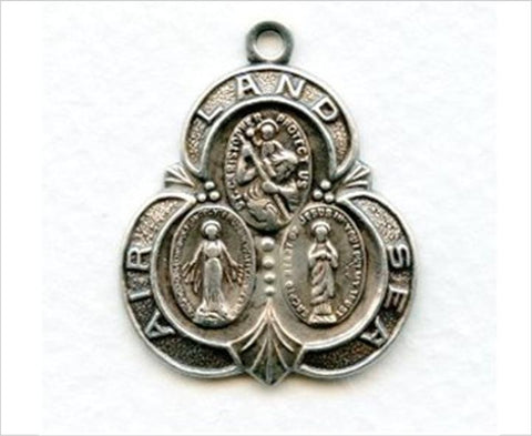 St Christopher Land Sea Air Medal