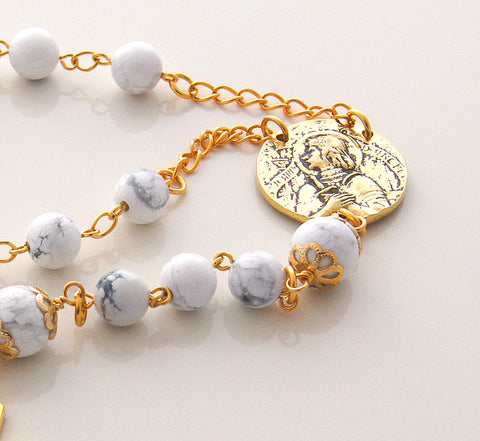 St Joan of Arc Pocket Rosary, Jeanne d'Arc, the Maid of Orleans