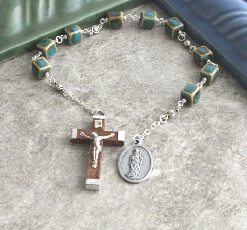 St Matthew the Apostle Chaplet Rosary Niner