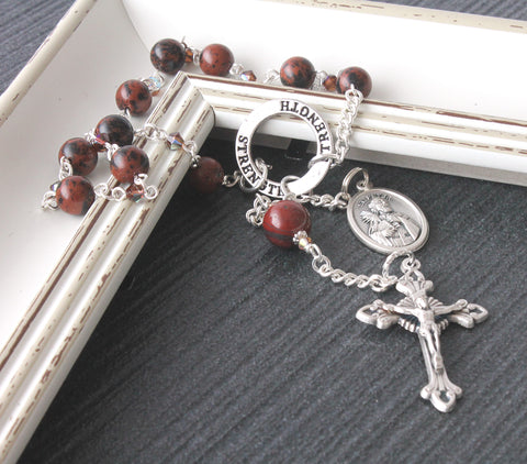 St Peter the Apostle - Pocket Rosary, Single Decade Rosary