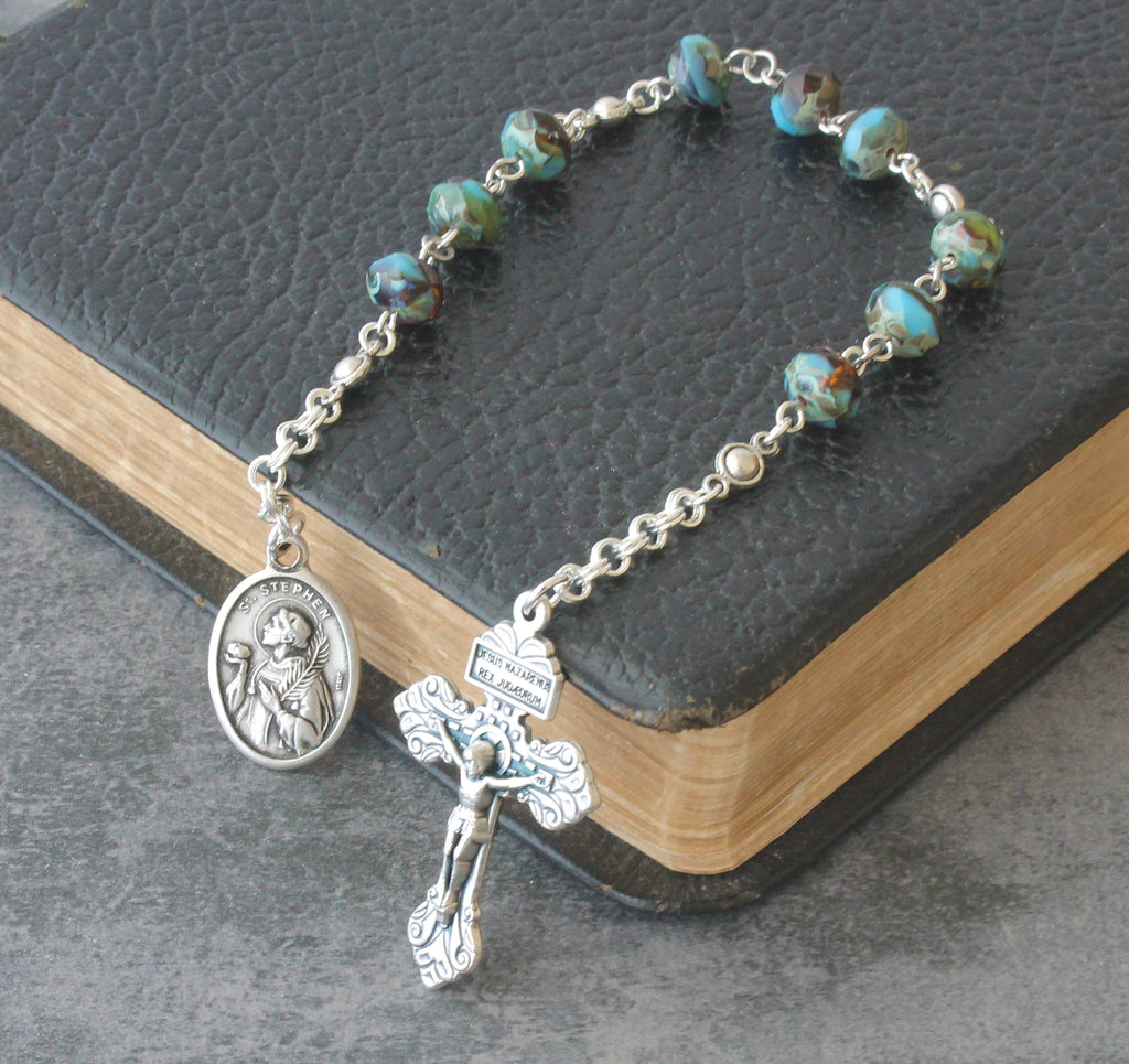 Saint Stephen niner chaplet New Zealand Catholic shop