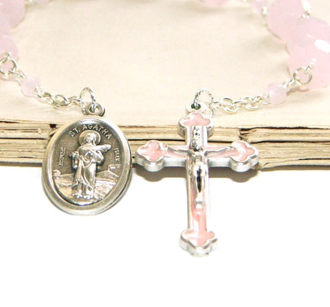 New Zealand Catholic St Agatha chaplet