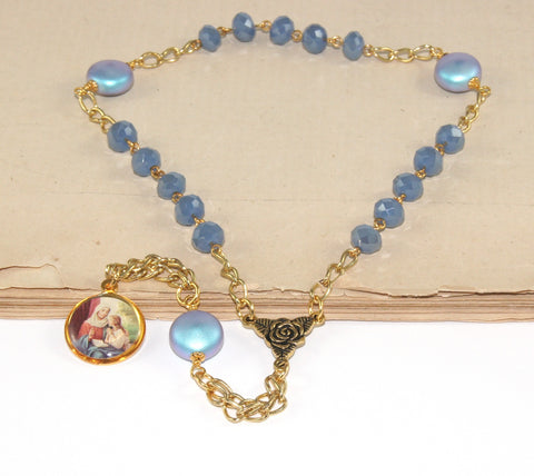 St Anne Mother's Chaplet Rosary