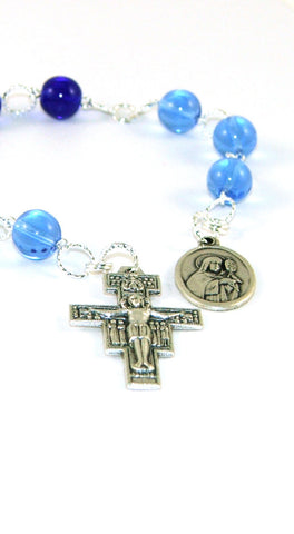 Saint Clare of Assisi prayer beads