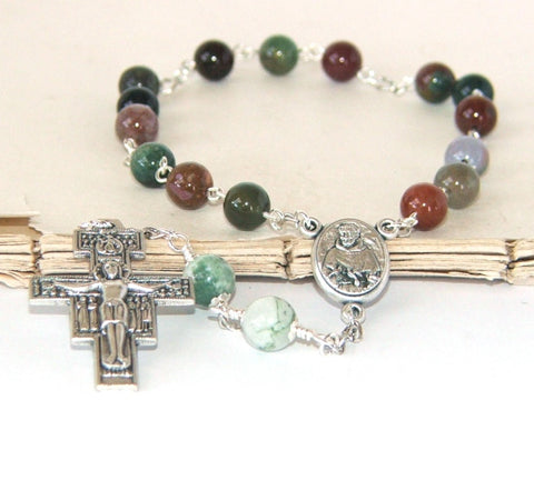 Jasper Chaplet of Saint Francis of Assisi