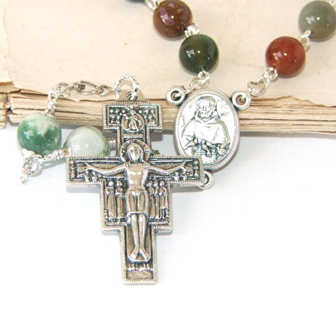 St Francis chaplet, San Damiano Cross