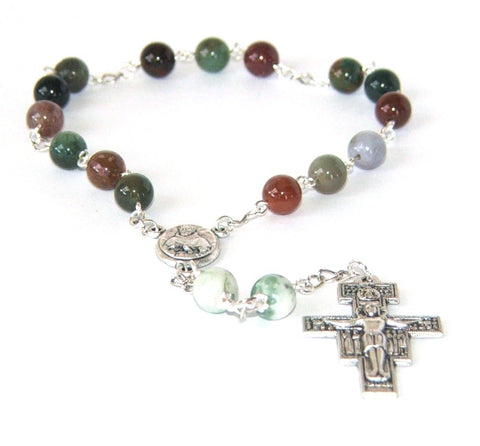 St Francis of Assisi Chaplet Prayer Beads