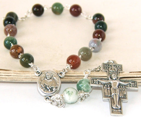 Saint Francis of Assisi chaplet