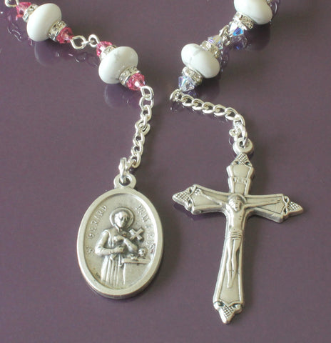 St Gerard & Our Lady of Perpetual Help Chaplet Prayer Beads