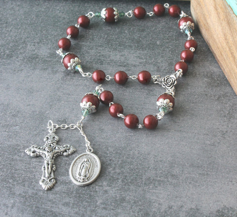 Our Lady of Guadalupe Chaplet Prayer Beads
