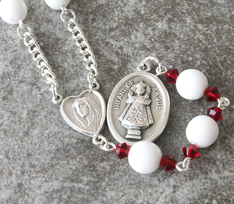 Catholic icon chaplet, Infant of Prague