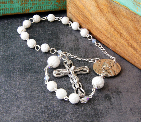 St Joan of Arc Single Decade Rosary - Pocket Rosary