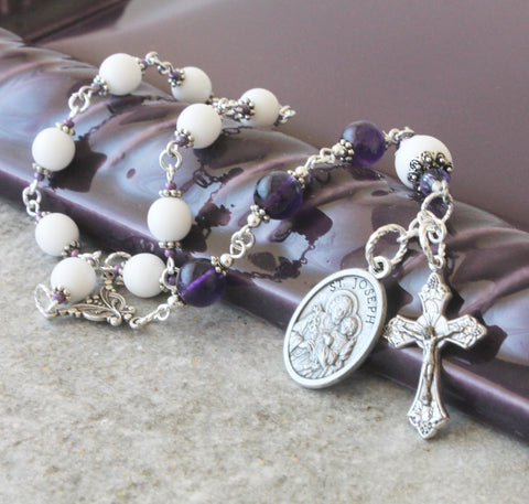 St Joseph prayer beads, Patron Saint Fathers