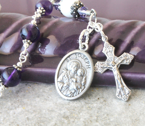 New Zealand Catholic chaplet Saint Joseph