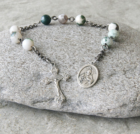 St Jude Chaplet Prayer Beads, Patron of Hopeless Cases & Desperate Causes
