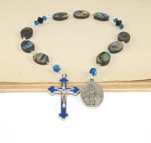 New Zealand paua abalone Catholic prayer