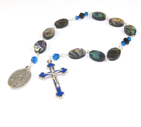 Saint Luke Rosary Chaplet Prayer Beads