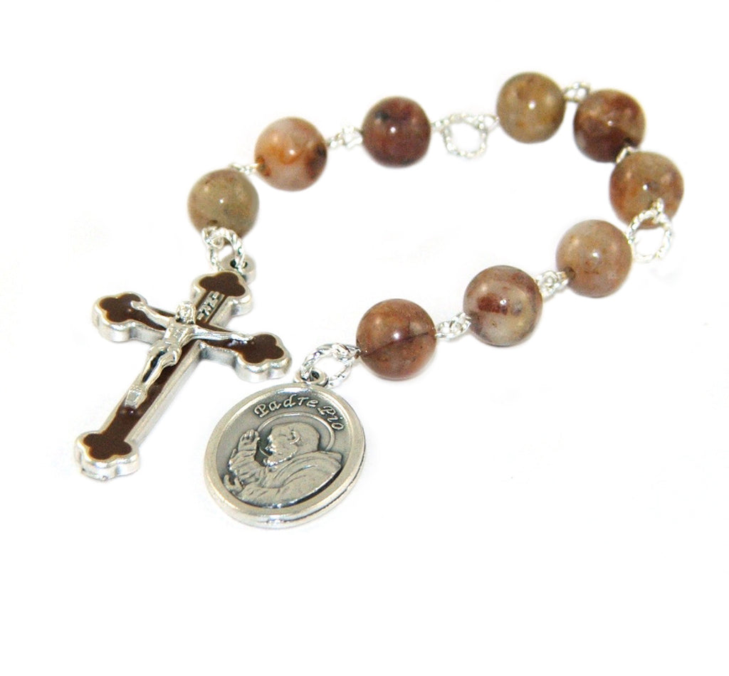 St Padre Pio chaplet rosary