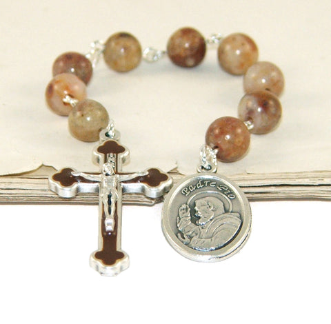 New Zealand Catholic prayer beads, Father Pio