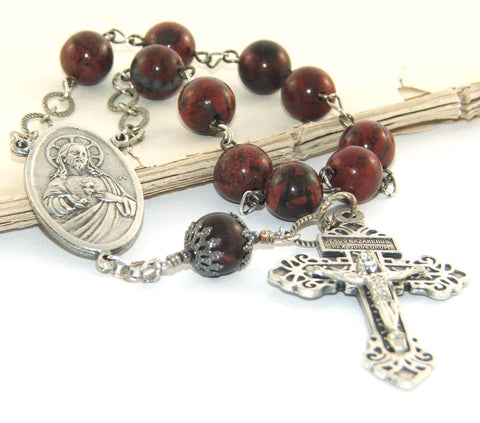 Sacred Heart of Jesus Decima Rosary with Pardon Cross
