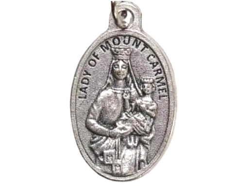 Our Lady of Mount Carmel scapular medal