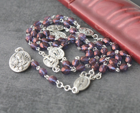 Chaplet of 7 Sorrows - Mater Dolorosa Rosary