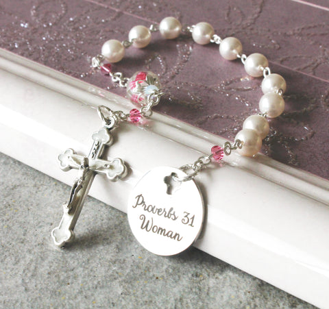 Woman's Proverbs 31 Chaplet Rosary