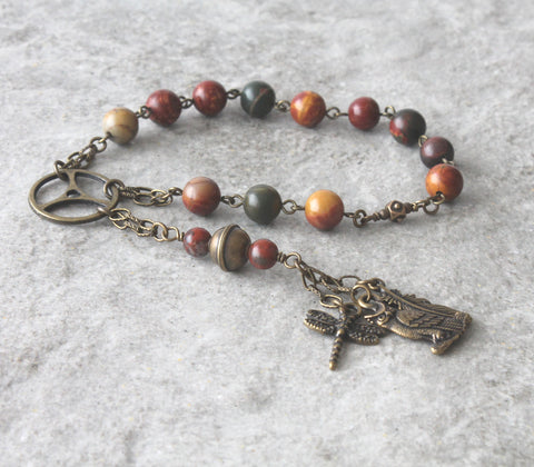 Recovery Beads - 12 Step Sobriety Prayer Beads