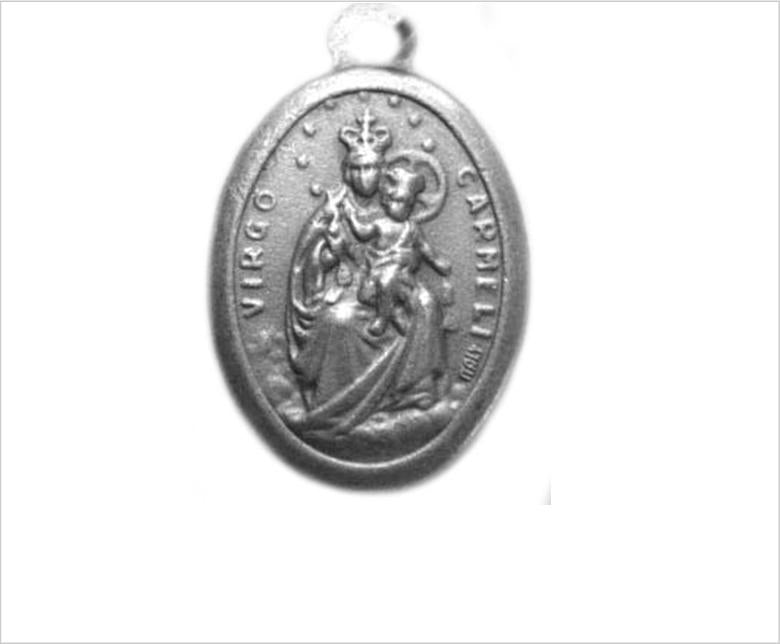 Virgin of Carmel Catholic Medal