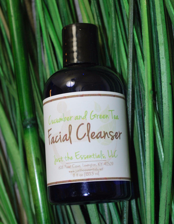 Cucumber and Green Tea Facial Wash