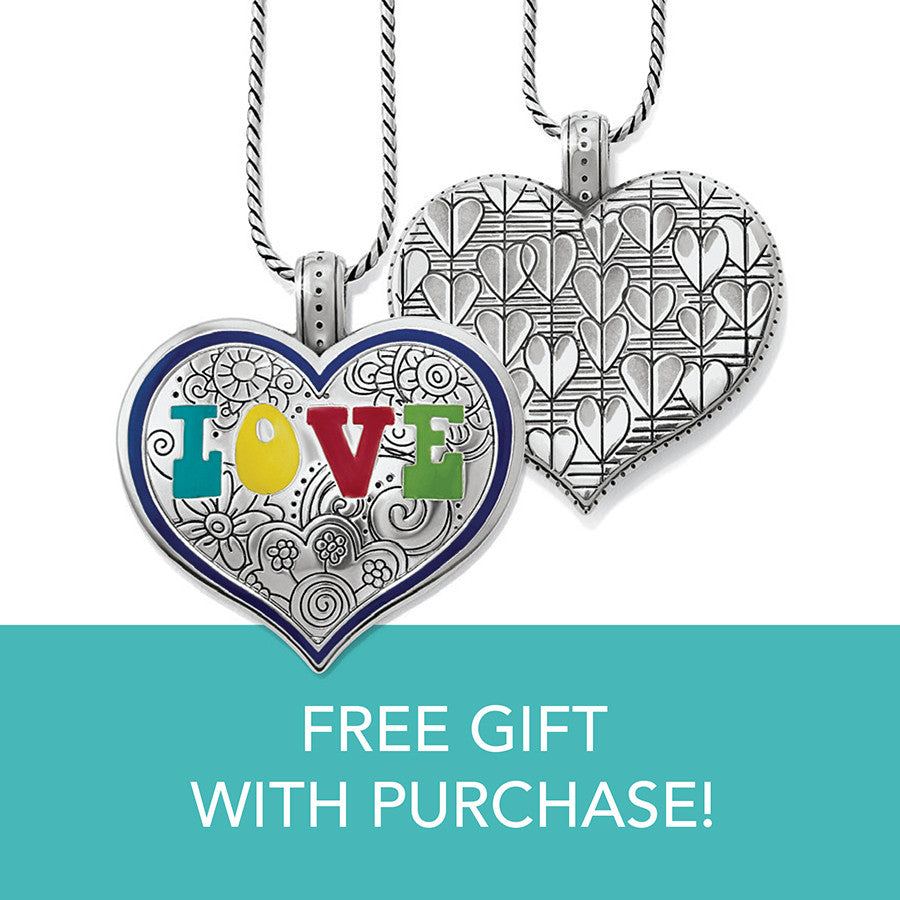 May 19th - June 4th Brighton Free Summer of Love Necklace Gift With Purchase
