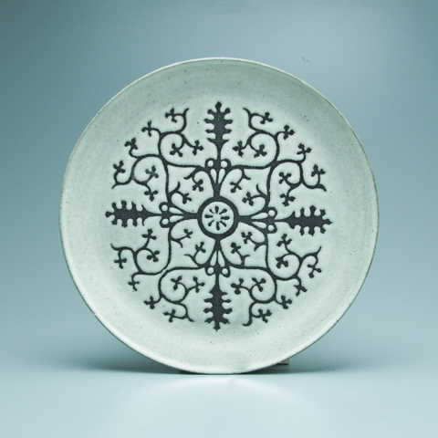 Dinner Plate, Ingrid, Antique White