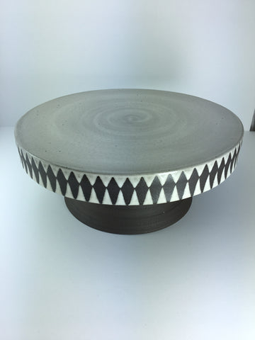 "Cake Stand, 10"" wide for 9"" cake"