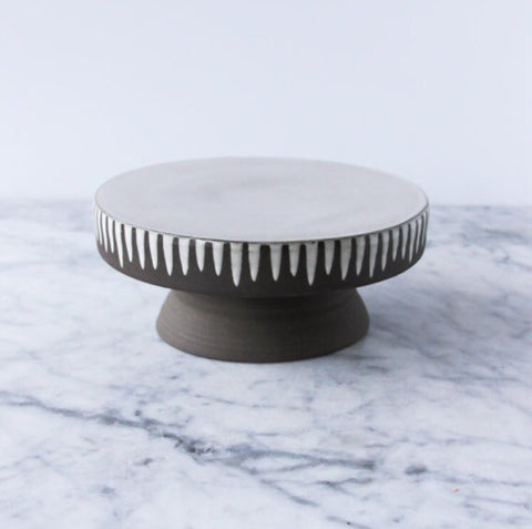 "Cake Stand, 8.25"", one-of-a-kind"