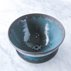 Berry Bowl, Large, Moroccan Design (comes with saucer)