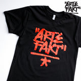 Black/Red Logo T-Shirt