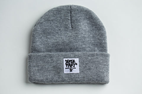 Orange Beanie (White Patch)