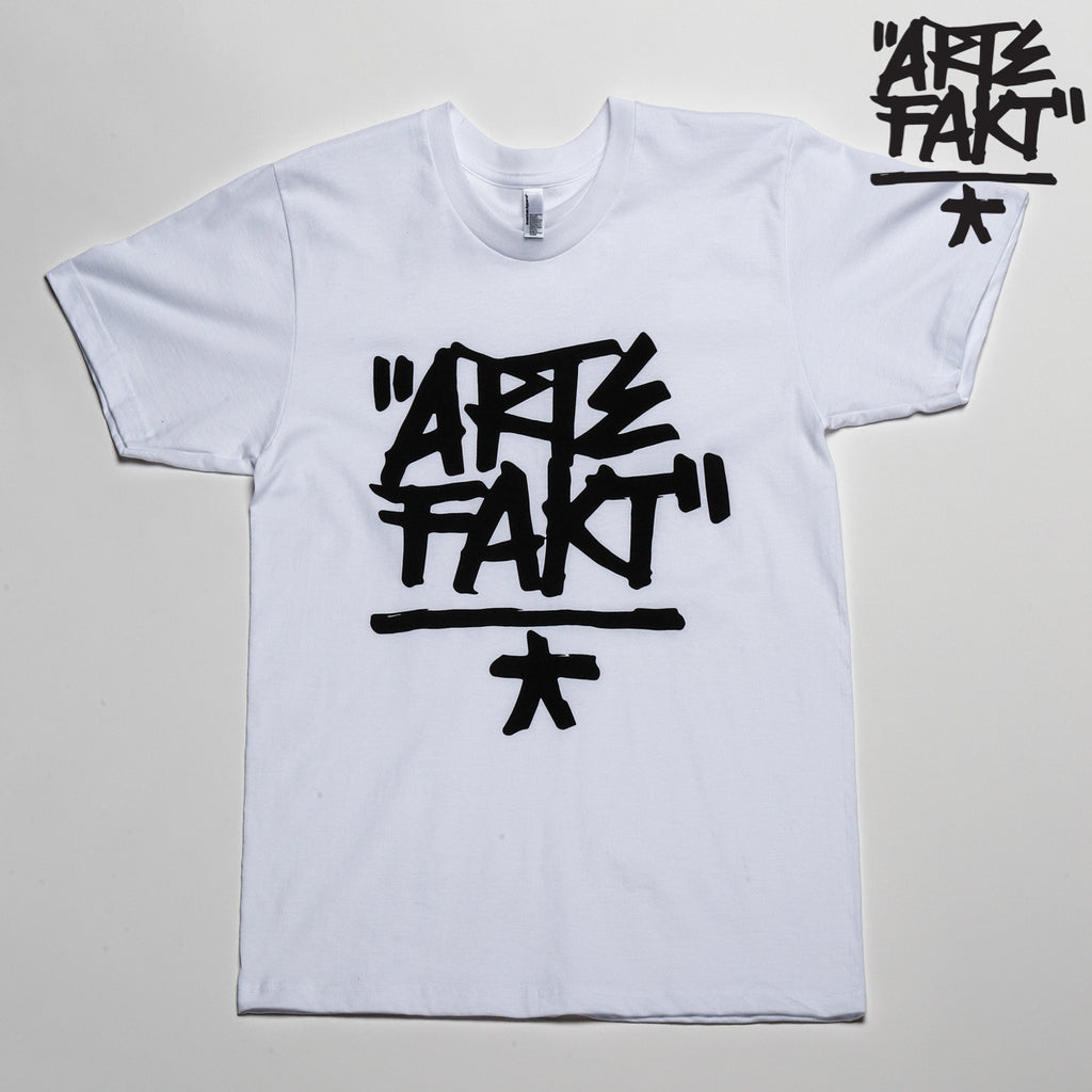 Artefakt T-Shirt | White/Black