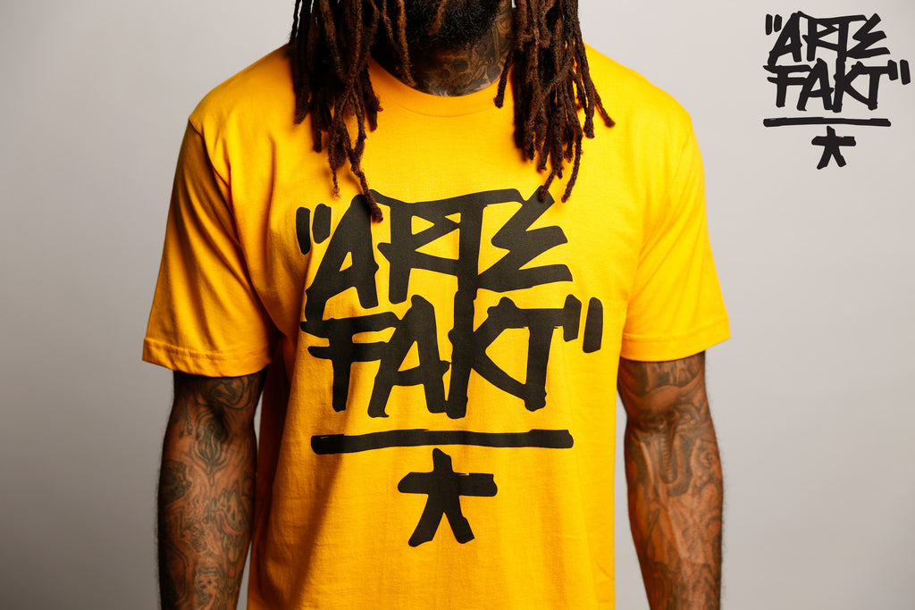 Artefakt T-Shirt | Yellow/Black