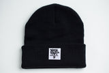 Black Beanie (White Patch)