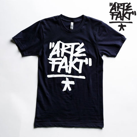 Artefakt T-Shirt | Black/White