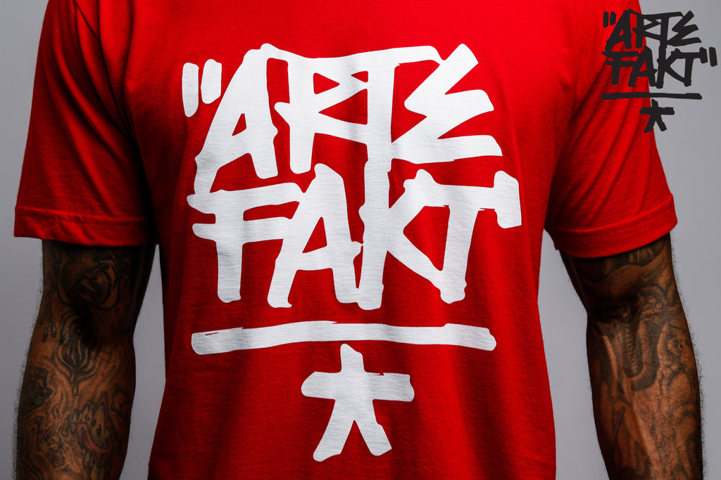 Artefakt T-Shirt | Red/White