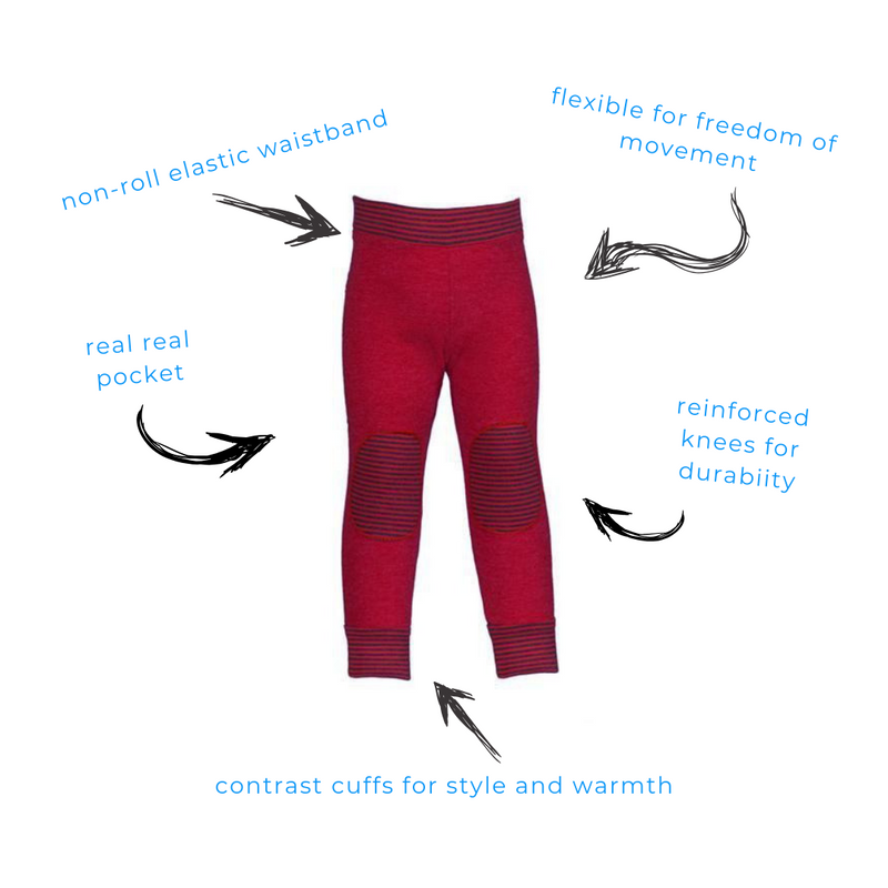 Red Delicious Leggings
