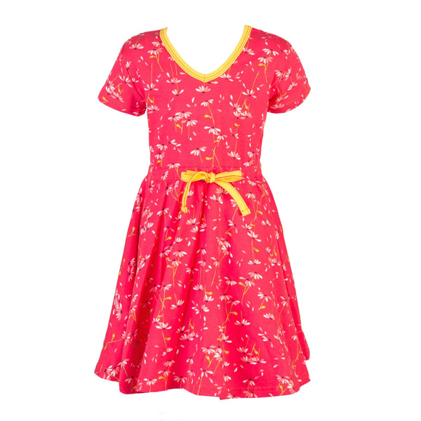 roastedfox-colourful-childrens-kids-boys-girls-clothes-clothing-Marilyn Retro Twirl Dress-Tops-roastedfox