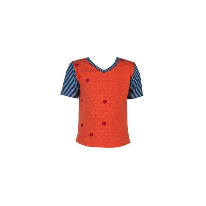 roastedfox-colourful-childrens-kids-boys-girls-clothes-clothing-Merricks S/S Tee-Tops-roastedfox