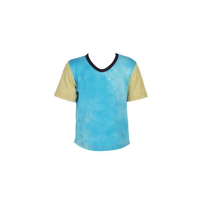 roastedfox-colourful-childrens-kids-boys-girls-clothes-clothing-Mr Stanley S/S Tee-Tops-roastedfox