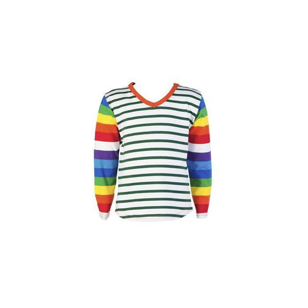 roastedfox-colourful-childrens-kids-boys-girls-clothes-clothing-Rainbow Serpent L/S Tee-Tops-roastedfox